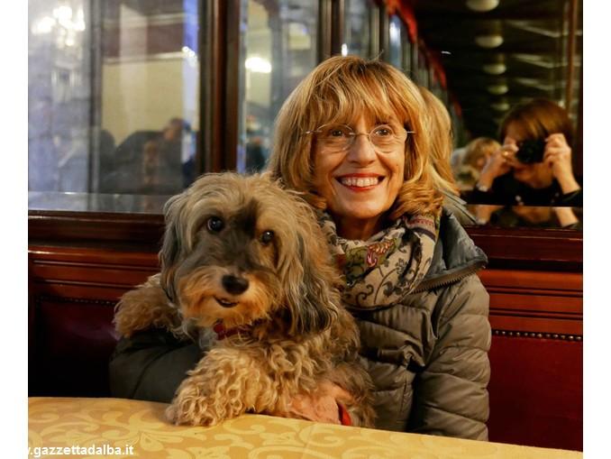 Paola Agosti con Honorine, novembre 2015 -®Giovanna Borgese