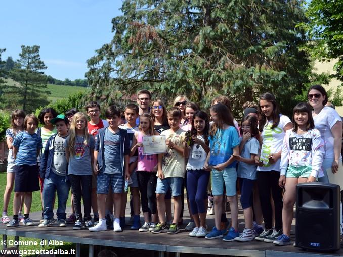 Premiati gli alunni delle elementari di Alba con più presenze al Piedibus 8