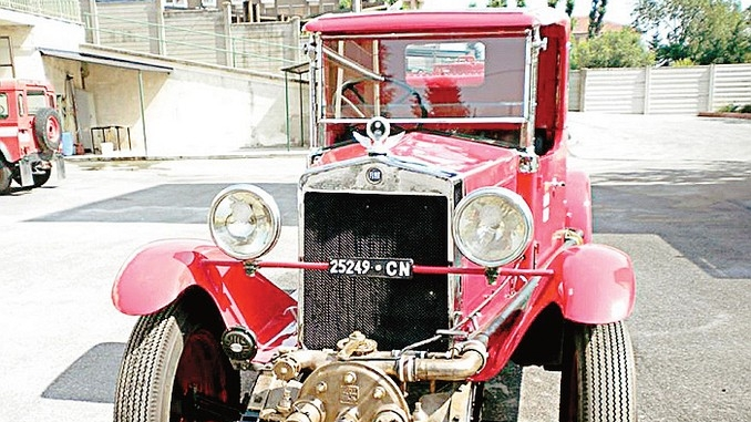 Restaurata la storica Fiat 503