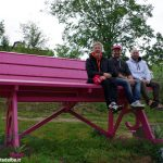 La panchina rosa di Santa Rosalia è diretta a Monforte