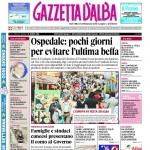 La copertina di Gazzetta d'Alba del 21 giugno 2016