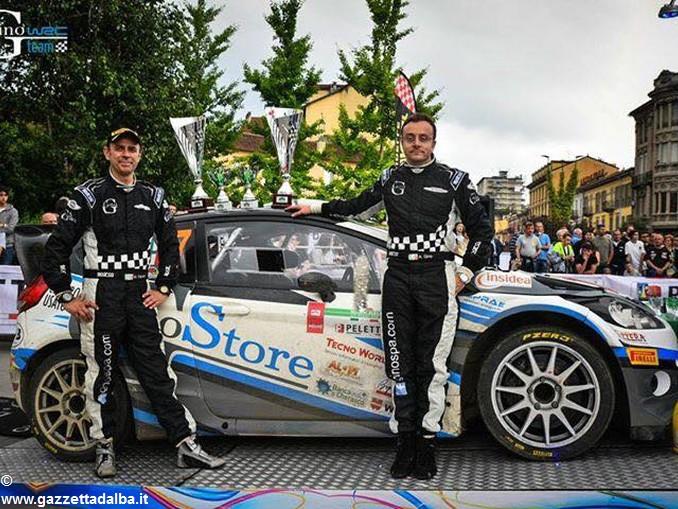 Ottimo secondo posto finale per Gino e Ravera al Rally di Alba