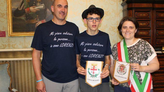 Lorenzo, ambasciatore del saluto, è arrivato