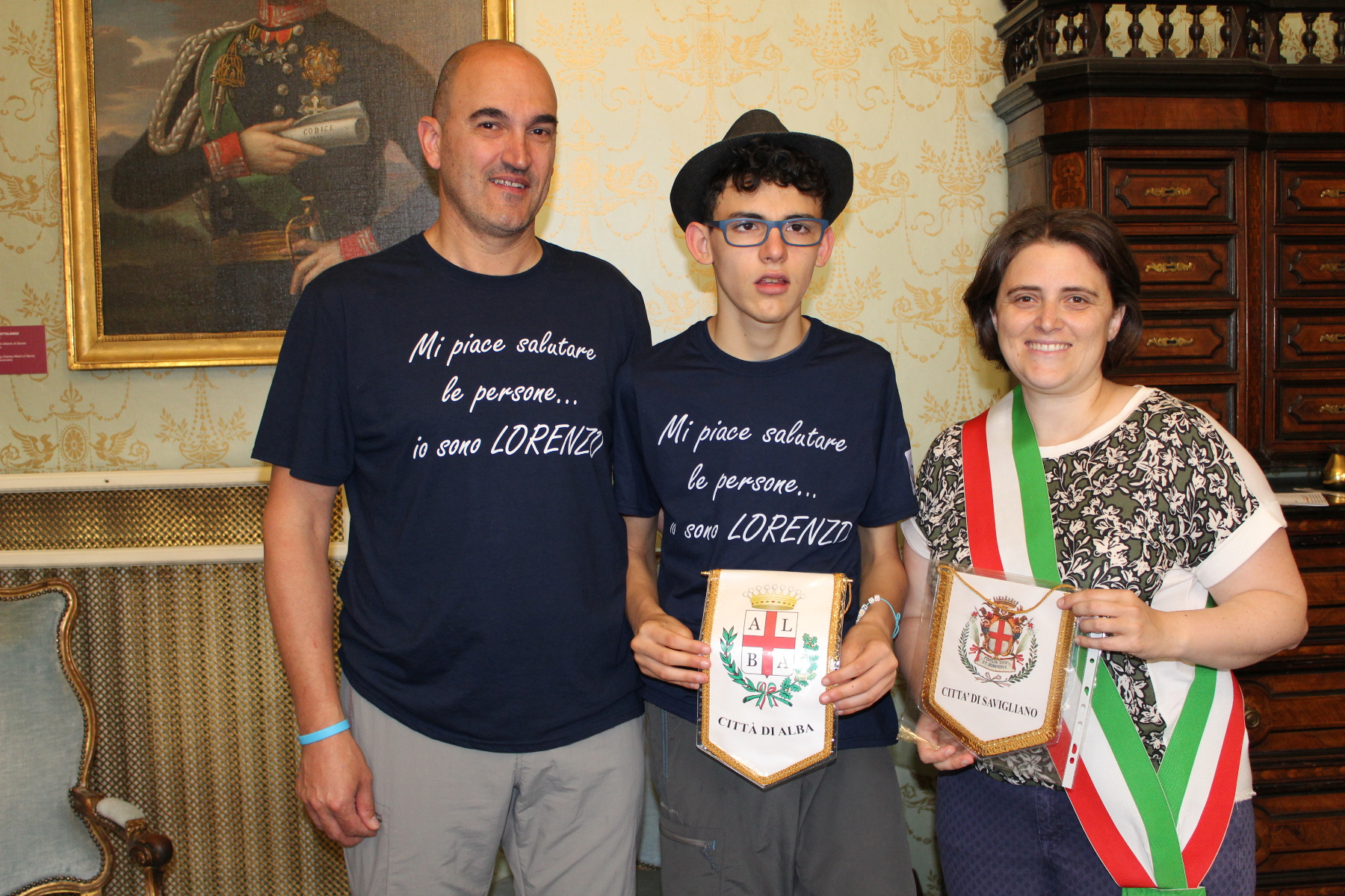 giu 2016 Franco, Lorenzo Cardone e Elena Di Liddo