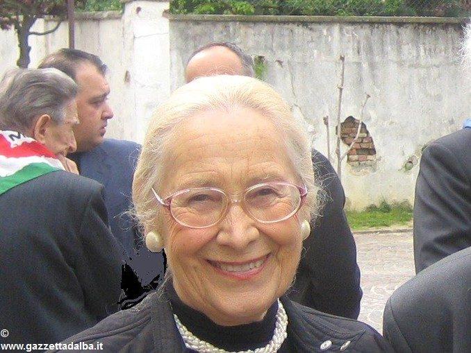 Bra: è morta la staffetta partigiana Malvina della Rocca