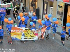 La sfilata del Meeting di ciclismo giovanissimi 1