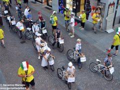 La sfilata del Meeting di ciclismo giovanissimi 3