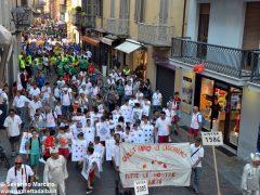 La sfilata del Meeting di ciclismo giovanissimi 8