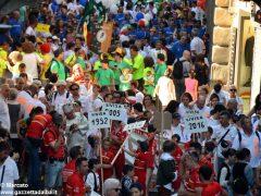 La sfilata del Meeting di ciclismo giovanissimi 9