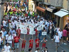 La sfilata del Meeting di ciclismo giovanissimi 10