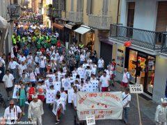 La sfilata del Meeting di ciclismo giovanissimi 11