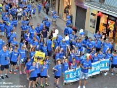 La sfilata del Meeting di ciclismo giovanissimi 12