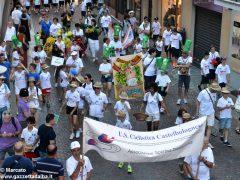 La sfilata del Meeting di ciclismo giovanissimi 18