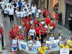La sfilata del Meeting di ciclismo giovanissimi 21