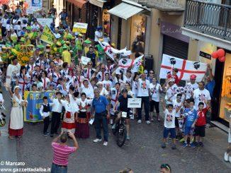 La sfilata del Meeting di ciclismo giovanissimi 22