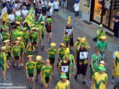 La sfilata del Meeting di ciclismo giovanissimi 23