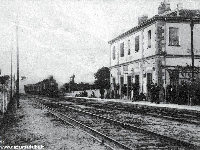Quella signorina sulla ferrovia Cantalupo-Bra