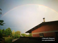 Le foto dei nostri lettori: grandine, folate di vento e arcobaleno 6
