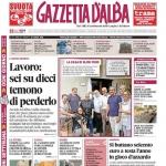 La copertina di Gazzetta d'Alba in edicola martedì 26 luglio