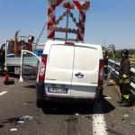 Scontro in tangenziale a Bra: automobilista ferito