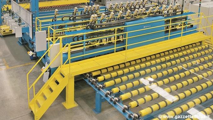 Spedite in Messico macchine Bottero per produrre vetro