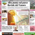 La copertina di Gazzetta d'Alba del 12 luglio