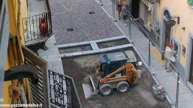 Bra: nuovo tratto pedonale previsto in via Vittorio Emanuele 1