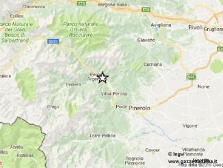 Terremoto 3.9 di magnitudo in val Chisone, udito anche ad Alba