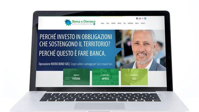 È online il nuovo sito della Banca di Cherasco