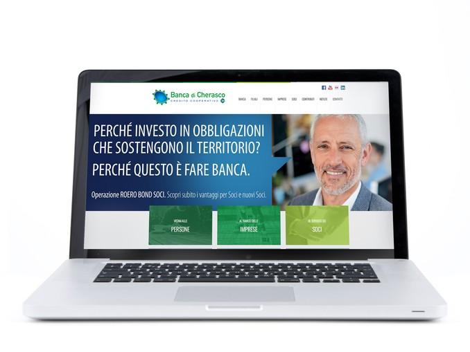 nuovo sito di Banca di Cherasco