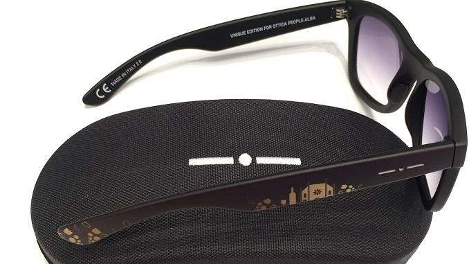 Arrivano gli occhiali da sole dedicati alla città di Alba
