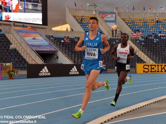 Pietro Riva decimo nei 10.000 metri al Mondiale juniores