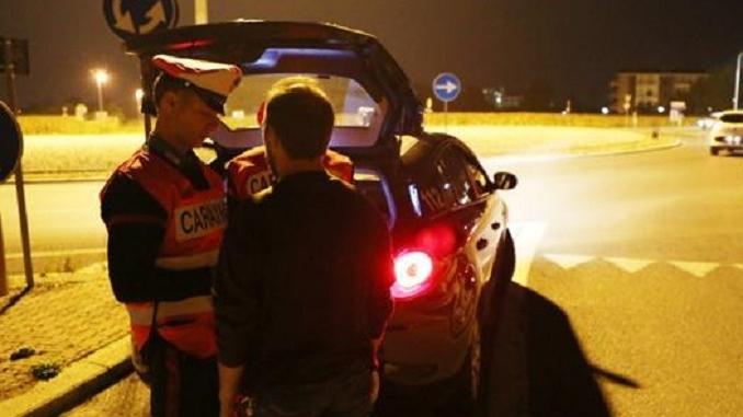 Controlli dei Carabinieri: ad Alba fermato un agricoltore con un tasso alcolemico cinque volte oltre il consentito