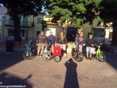 Da Ceresole a Viterbo, amici in vacanza in sella al Ciao 1