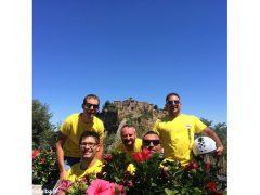 Da Ceresole a Viterbo, amici in vacanza in sella al Ciao 2
