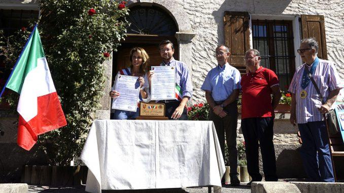 Siglato il patto di amicizia con  il Comune francese di Saint-Pons