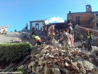 Sette volontari della Misericordia Santa Chiara di Alba in soccorso ai terremotati