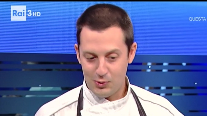 Il cuoco dell'Argaj di Castiglione Falletto Andrea Scarzello protagonista su Rai Tre