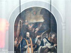 Alba, le artistiche coperture dei ponteggi per il restauro in San Giovanni 2