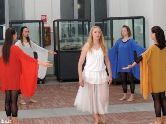 I Quattro elementi danzano al museo Federico Eusebio