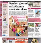 La copertina di Gazzetta d'Alba in edicola martedì 20 settembre