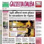 La copertina di Gazzetta d'Alba in edicola martedì 27 settembre