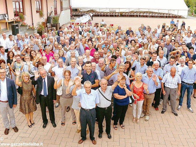 Festa per 650 persone alla cantina Terre del Barolo
