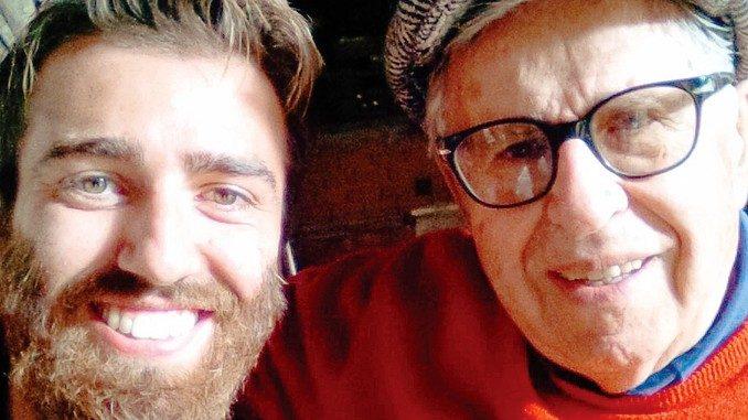 L'albese Tibaldi sul set con Paolo Taviani