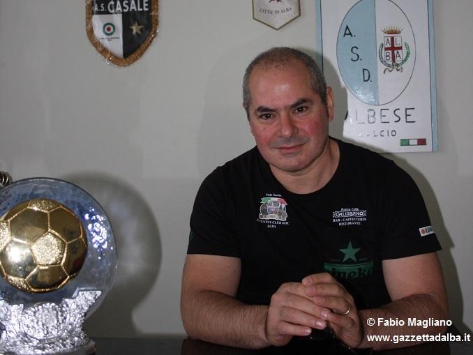 Gennaro Castronuovo è il nuovo (ambizioso) presidente dell'Albese