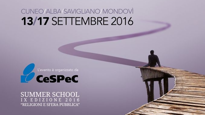 La Summer school del Cespec anche ad Alba