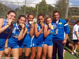 Ragazze cheraschesi campionesse italiane di pallapugno