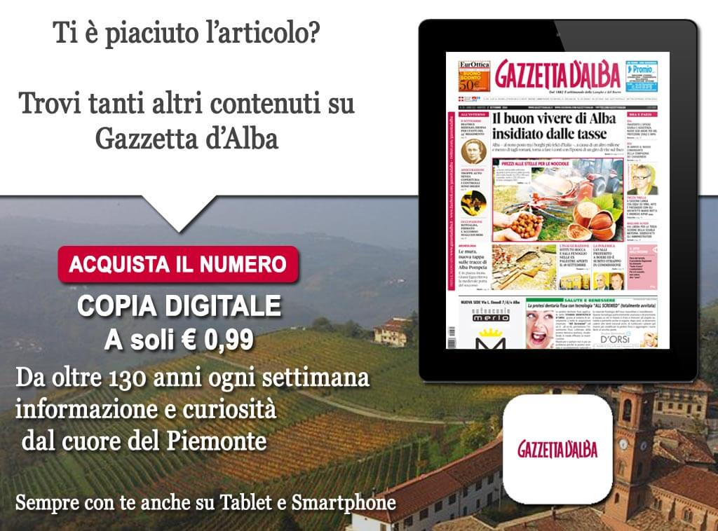 Striscione Gazzetta Alba