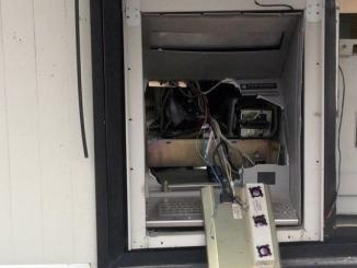 Tentativo di scasso con il gas al bancomat di Ricca