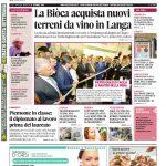 La copertina di Gazzetta d'Alba in edicola martedì 11 ottobre
